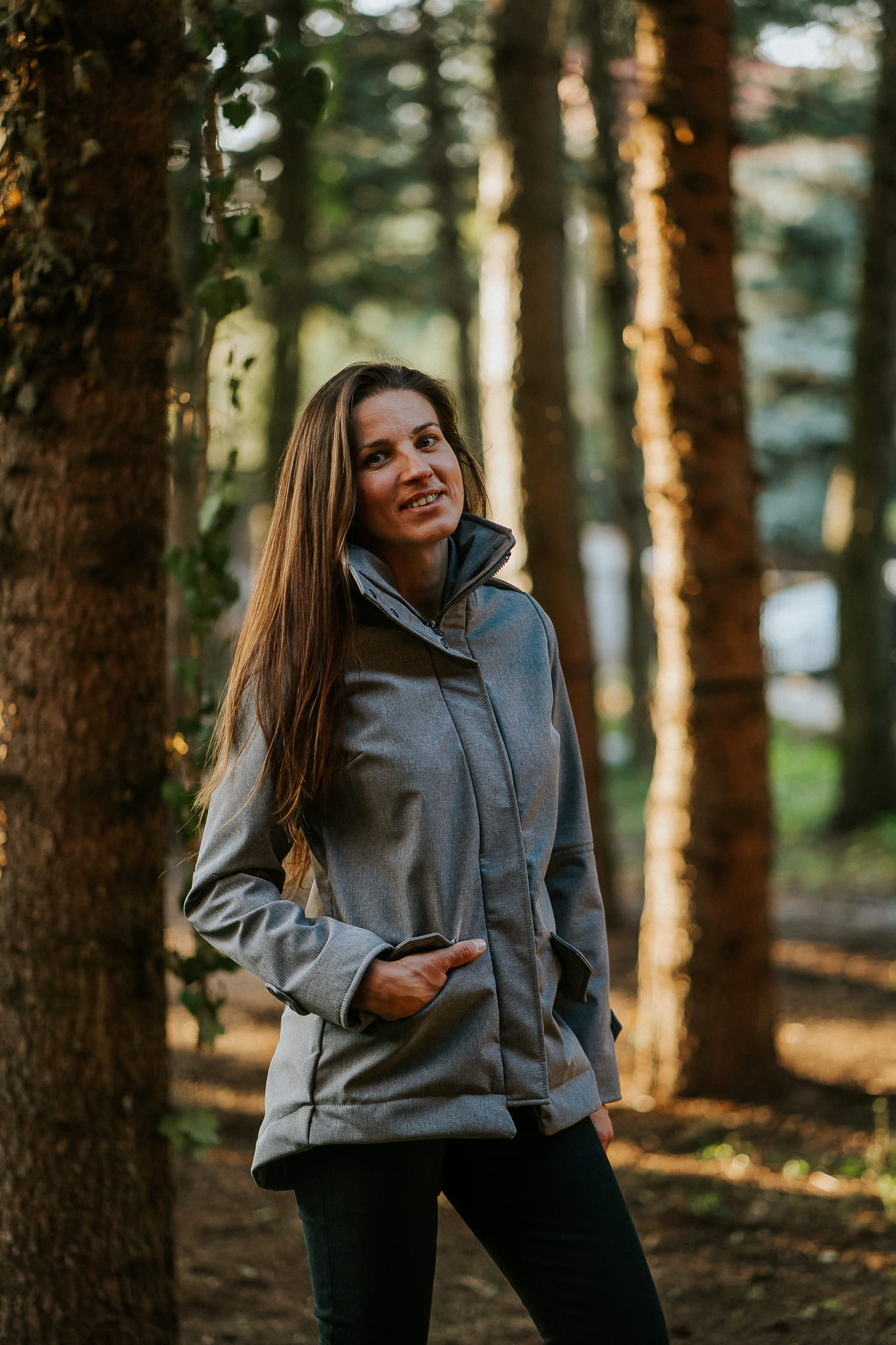 KAVKA softshell jacket / kurtka do noszenia - grey melange